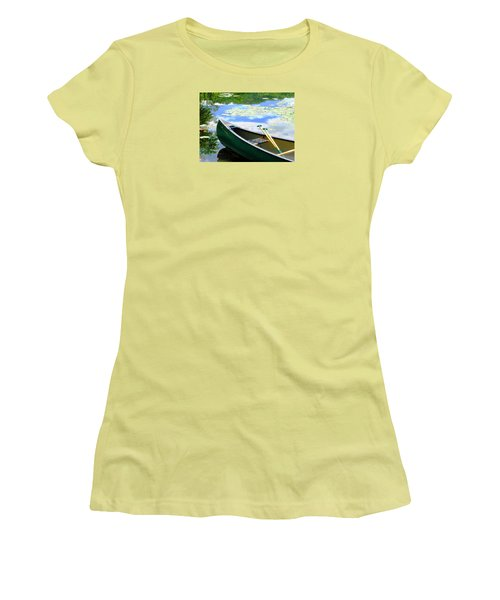 Let's Go Out In The Old Town Women's T-Shirt (Junior Cut) by Angela Davies