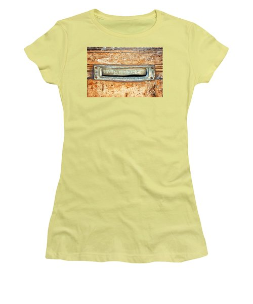 Lettere Letters Women's T-Shirt (Junior Cut)