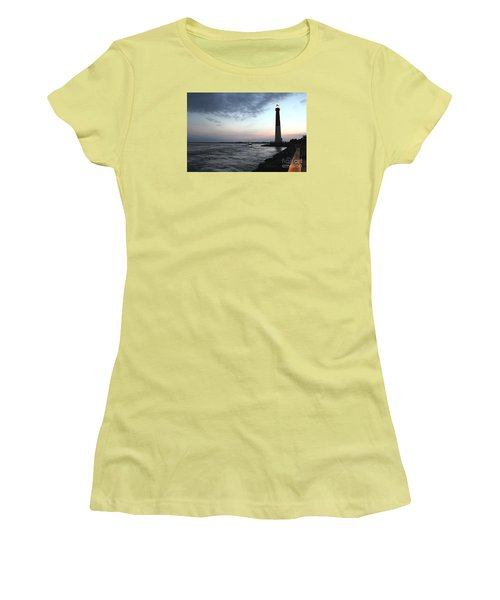 Women's T-Shirt (Junior Cut) featuring the photograph Light At Dawn by David Jackson