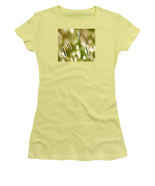 Light Play Women's T-Shirt (Junior Cut) by Andy Crawford