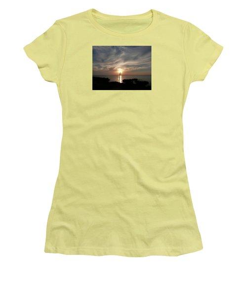 Light The Sun Women's T-Shirt (Junior Cut) by Amar Sheow