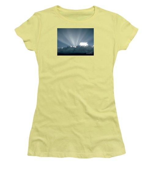 Lightplay Women's T-Shirt (Junior Cut) by Amar Sheow