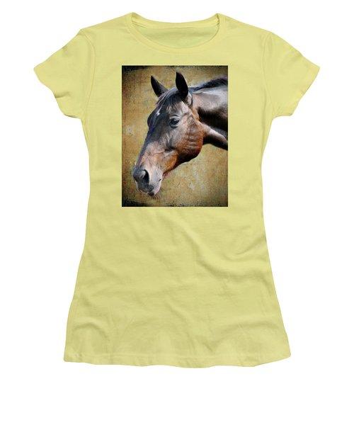 Lil Word Women's T-Shirt (Junior Cut) by Savannah Gibbs