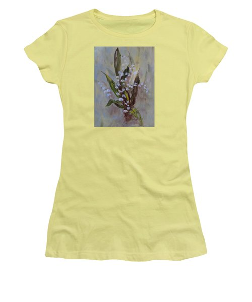 Lilies-of-the-valley Women's T-Shirt (Athletic Fit)