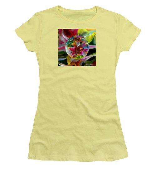 Lillium Bulbiferum Women's T-Shirt (Athletic Fit)