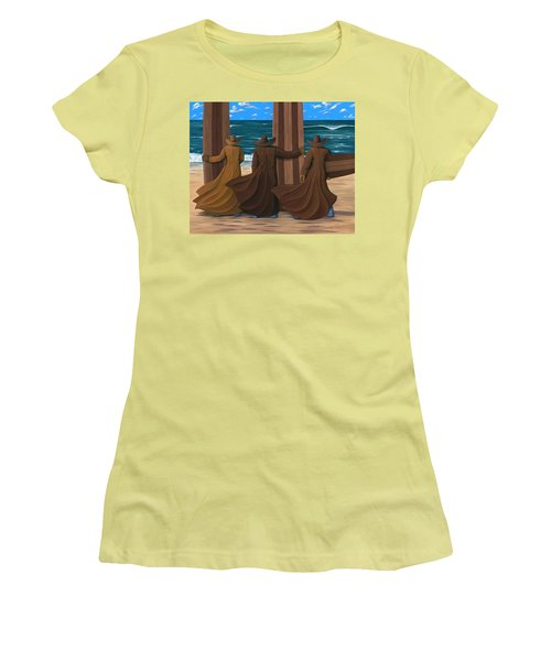 A Long Ride West Women's T-Shirt (Athletic Fit)