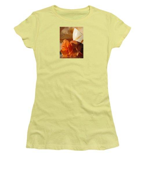 Longing For The Sea Women's T-Shirt (Junior Cut) by Angela Davies