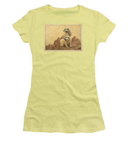 Lookouts Women's T-Shirt (Junior Cut) by James W Johnson