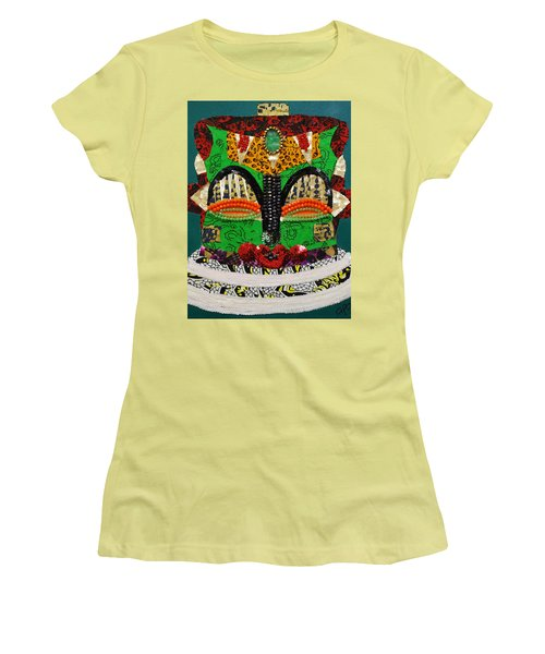 Lotus Warrior Women's T-Shirt (Athletic Fit)