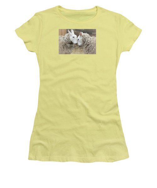 Women's T-Shirt (Junior Cut) featuring the photograph Love Me Sweet by The Art Of Marilyn Ridoutt-Greene