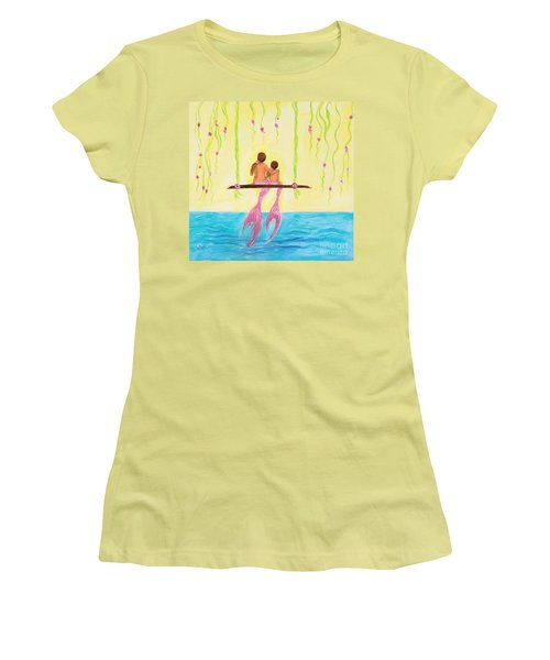 Loving Sunshine Women's T-Shirt (Athletic Fit)