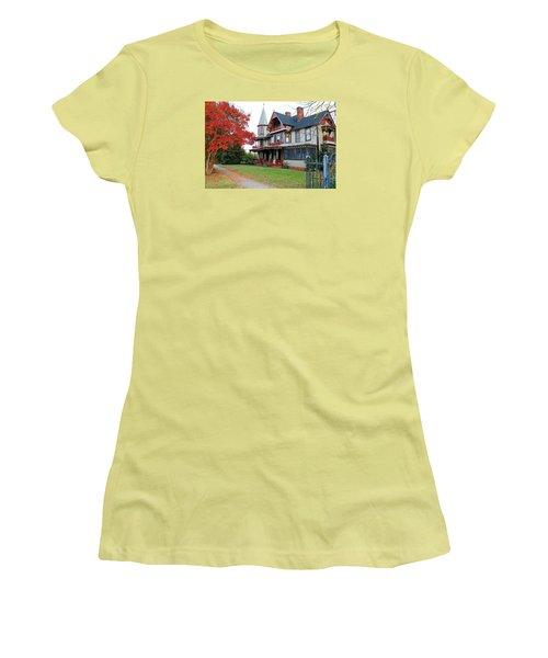 Lowenstein-henkel House Women's T-Shirt (Junior Cut) by Cynthia Guinn