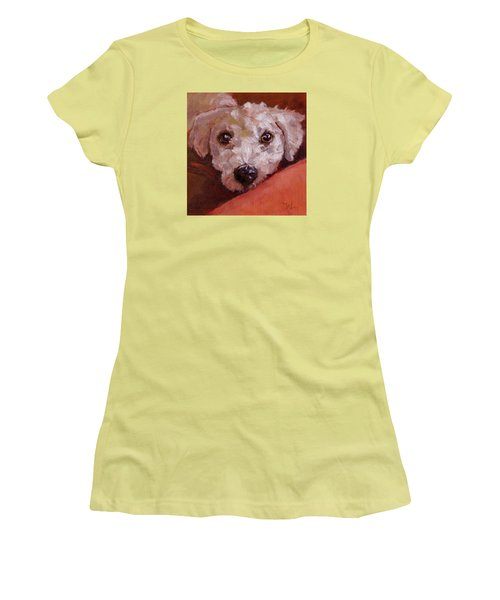Lucky Women's T-Shirt (Junior Cut) by Pattie Wall