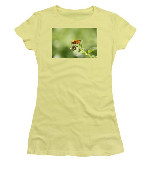 Women's T-Shirt (Junior Cut) featuring the photograph Lunch Time by Amy Gallagher