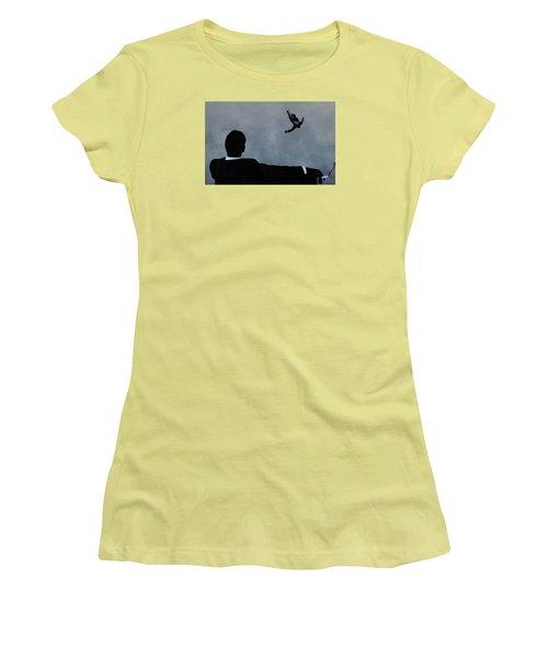 Mad Men Art Women's T-Shirt (Junior Cut) by Dan Sproul