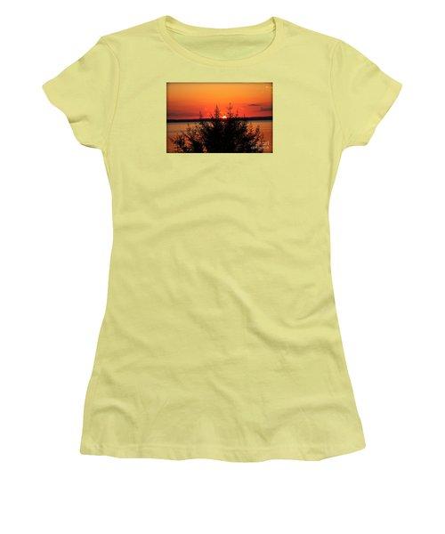 Magic At Sunset Women's T-Shirt (Junior Cut)