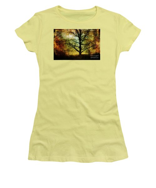 Magic Night Women's T-Shirt (Junior Cut) by Randi Grace Nilsberg