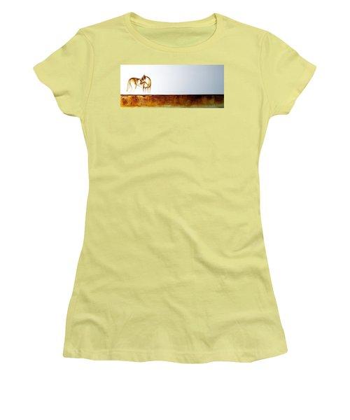 Lioness - Original Artwork Women's T-Shirt (Athletic Fit)