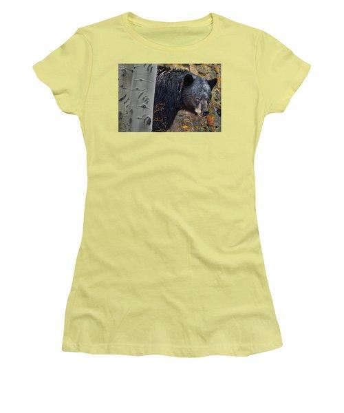 Mama Bear Women's T-Shirt (Junior Cut) by Ed Hall
