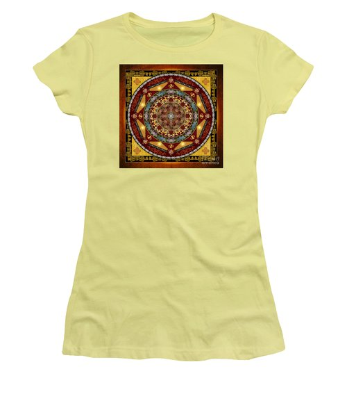 Mandala Oriental Bliss Women's T-Shirt (Athletic Fit)