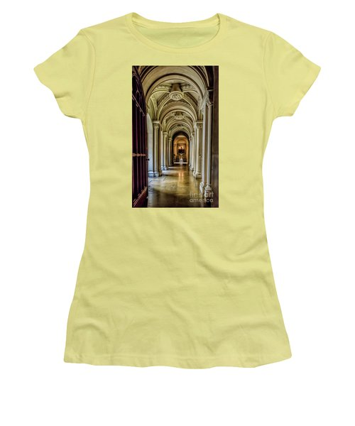 Mansion Hallway Women's T-Shirt (Athletic Fit)