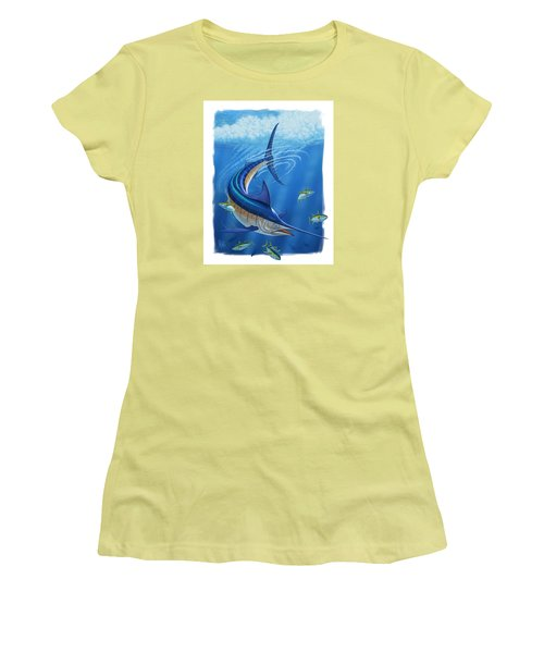 Marlin Women's T-Shirt (Athletic Fit)