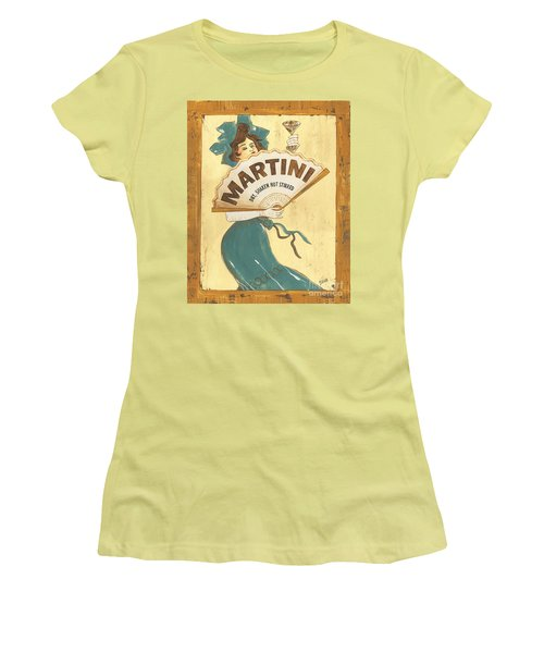 Martini Dry Women's T-Shirt (Athletic Fit)
