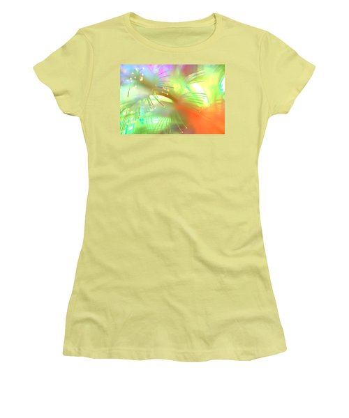 Women's T-Shirt (Junior Cut) featuring the photograph Maybe Im Amazed by Dazzle Zazz