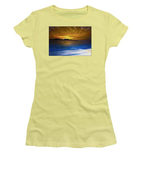 Mediterranean Sunrise Women's T-Shirt (Athletic Fit)