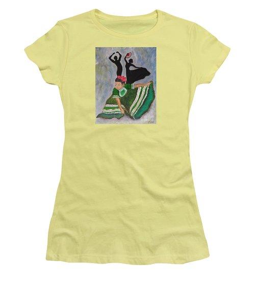Mexican Hat Dance Women's T-Shirt (Junior Cut)