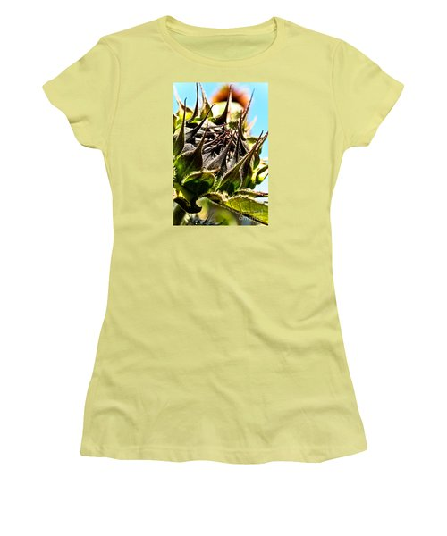 Mexican Sunflower Women's T-Shirt (Junior Cut) by Joel Loftus