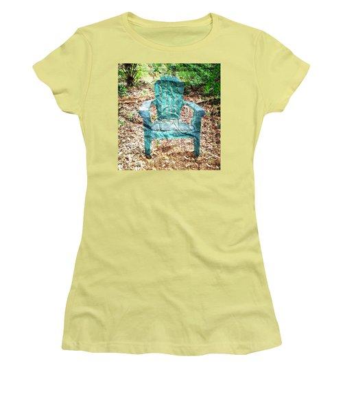 Mi Silla De Papel  Women's T-Shirt (Athletic Fit)