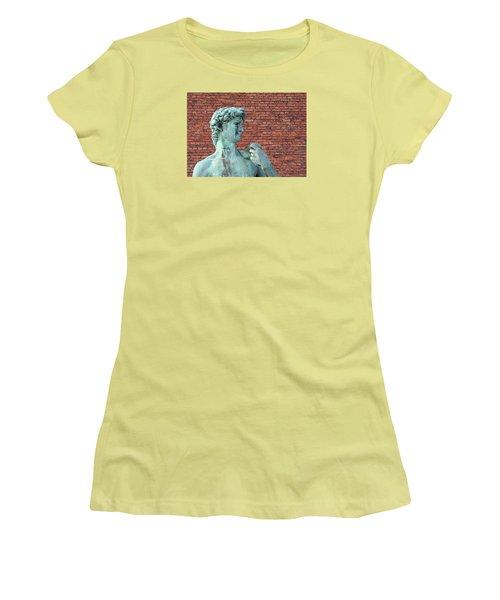 Michelangelos David Women's T-Shirt (Athletic Fit)