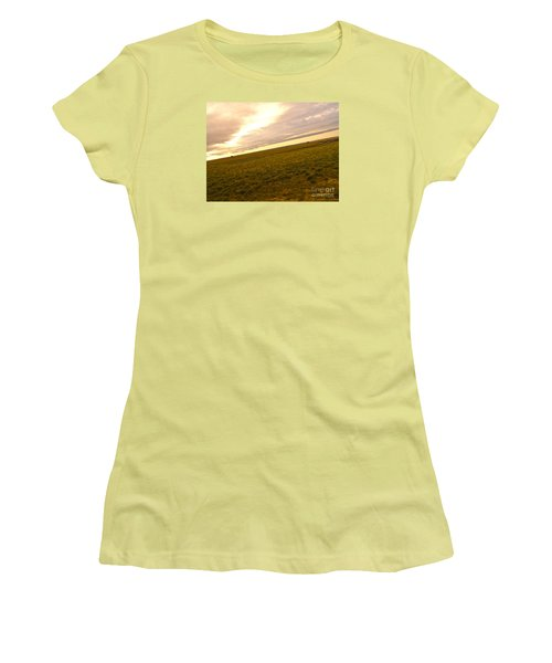 Midwest Slanted Women's T-Shirt (Athletic Fit)