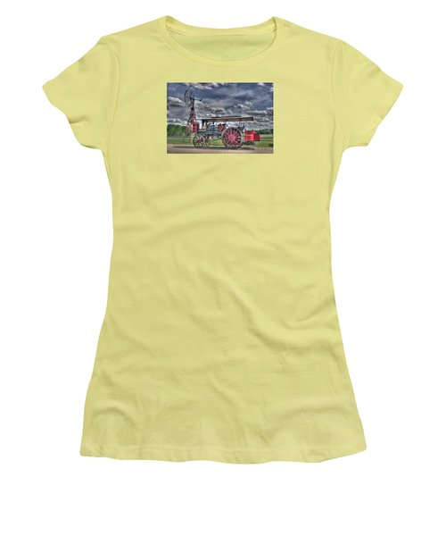 Minneapolis At The Windmill Women's T-Shirt (Junior Cut) by Shelly Gunderson