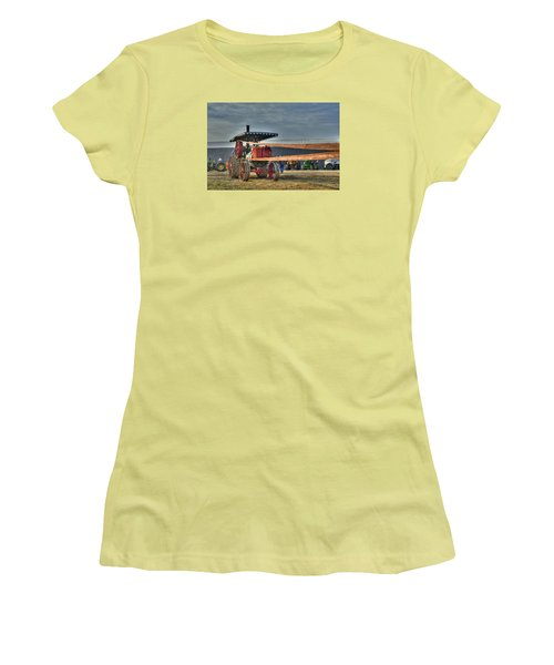 Minneapolis Return Flue Threshing Women's T-Shirt (Athletic Fit)