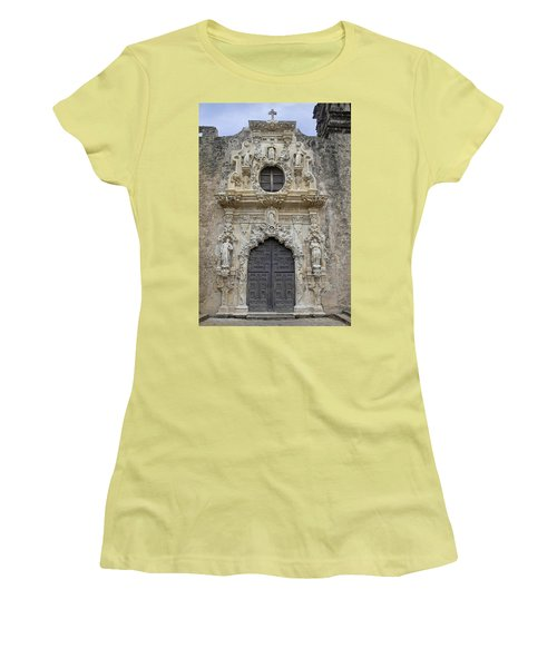 Mission San Jose Doorway Women's T-Shirt (Athletic Fit)