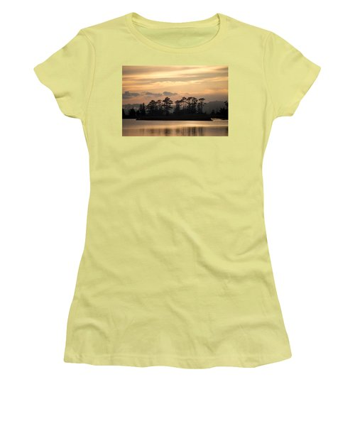 Misty Island Of Assawoman Bay Women's T-Shirt (Athletic Fit)