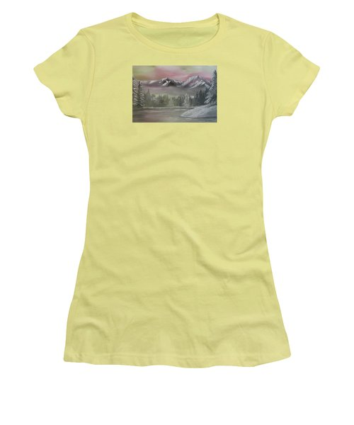 Misty Winter Women's T-Shirt (Athletic Fit)