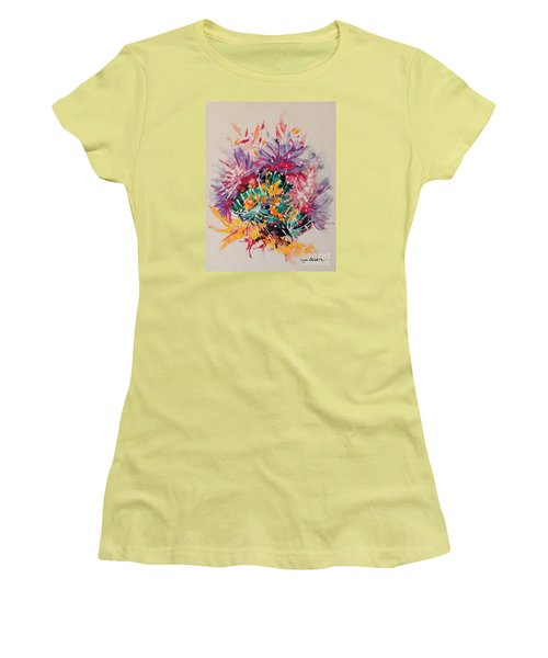 Mixed Coral Women's T-Shirt (Athletic Fit)
