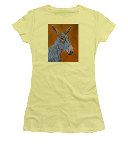 Mo Vision,donkey Women's T-Shirt (Athletic Fit)