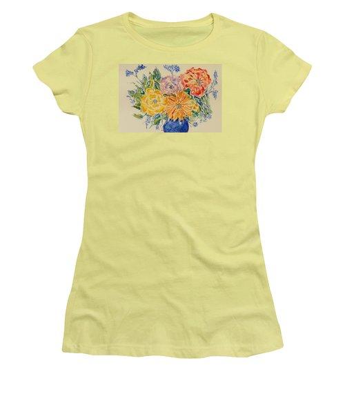 Bouquet Of Love Women's T-Shirt (Athletic Fit)