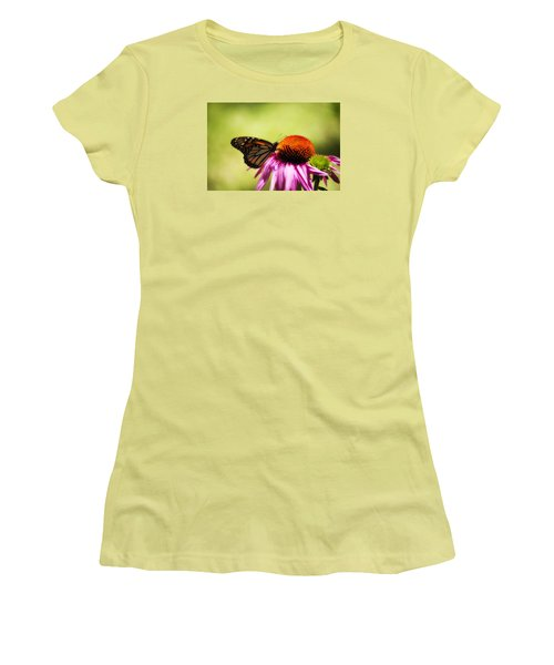 Monarch Glow Women's T-Shirt (Athletic Fit)