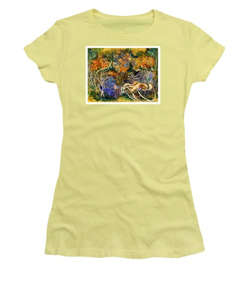 Monet Under Water Women's T-Shirt (Athletic Fit)