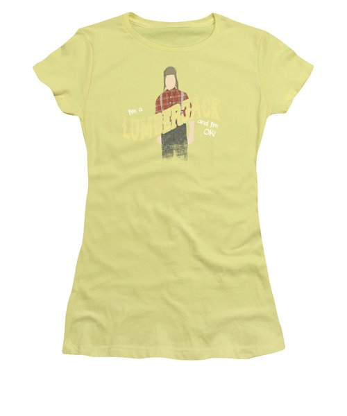 Monty Python - Lumberjack Women's T-Shirt (Junior Cut)