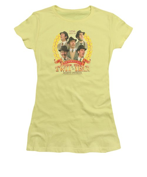 Monty Python - Twit Of The Year Women's T-Shirt (Junior Cut)