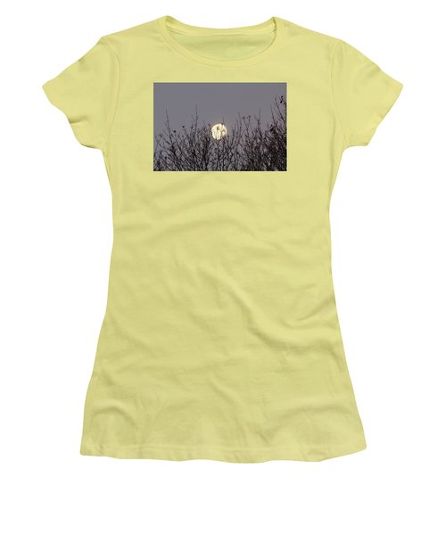 Moon Fall Women's T-Shirt (Athletic Fit)