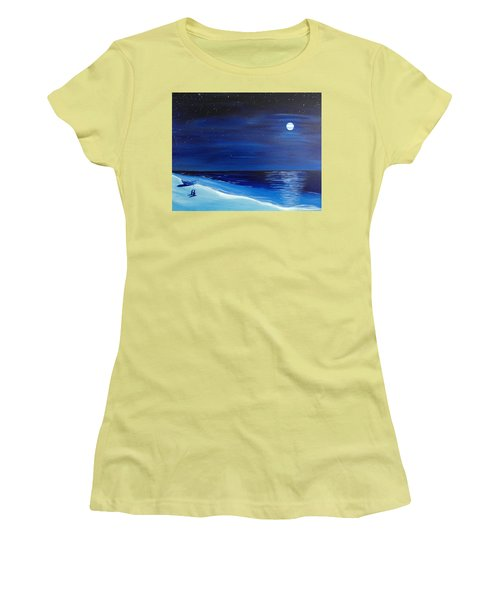 Moonlight Company Women's T-Shirt (Athletic Fit)