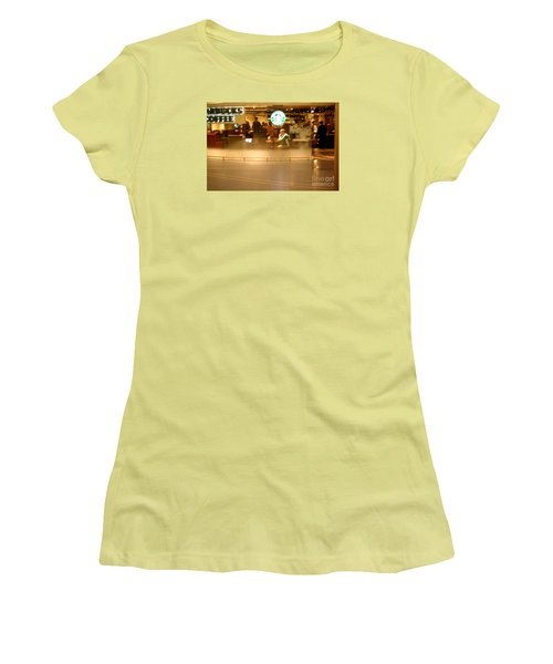 Morning Buzz Women's T-Shirt (Athletic Fit)
