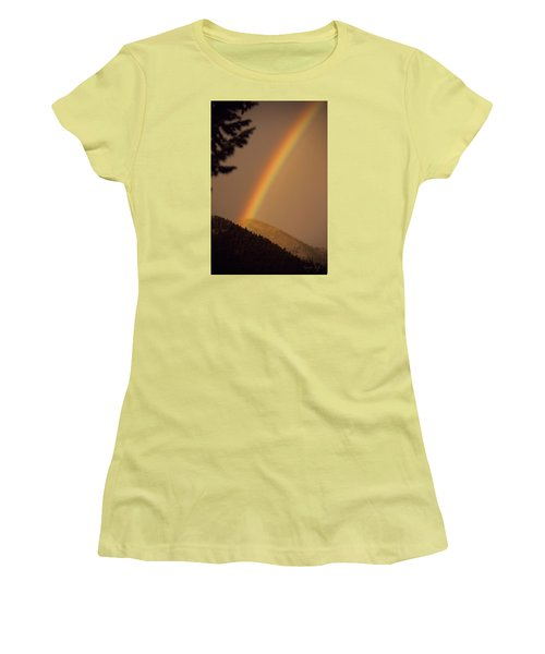 Morning Rainbow Women's T-Shirt (Athletic Fit)